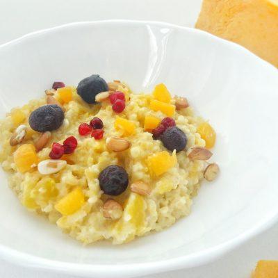 Пшеничная каша с тыквой - рецепт с фото