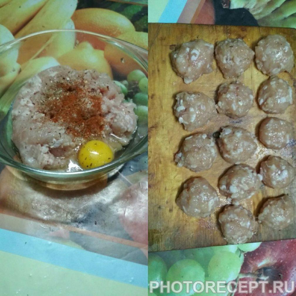 Фото рецепта - Суп с фрикадельками куриными - шаг 2