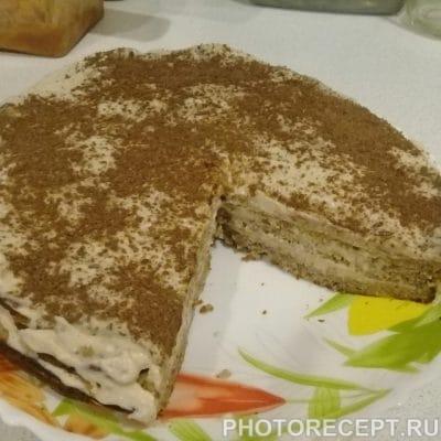 Шоколадно-ореховый торт - рецепт с фото