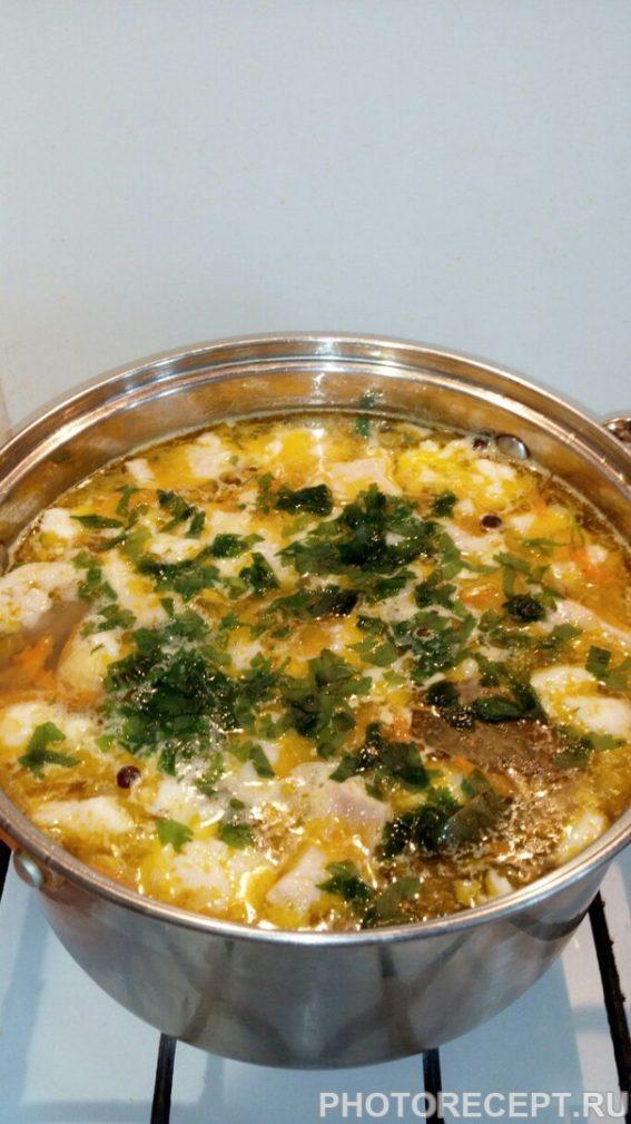 Фото рецепта - Рыбный суп из филе щуки - шаг 12