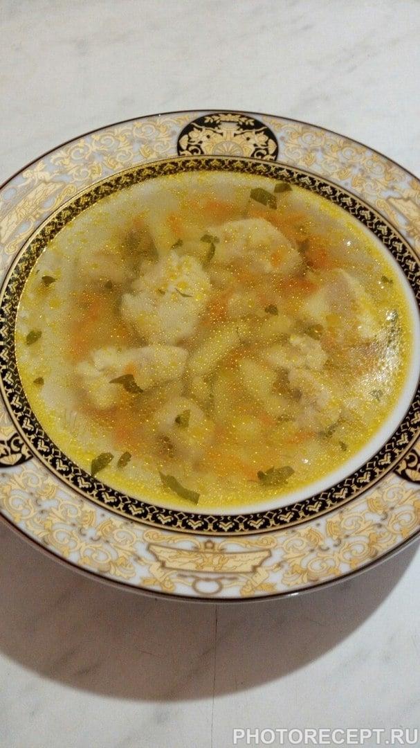 Рыбный суп из филе щуки