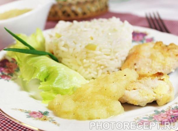 Фото рецепта - Медальоны из индейки с соусом из ананасов - шаг 5