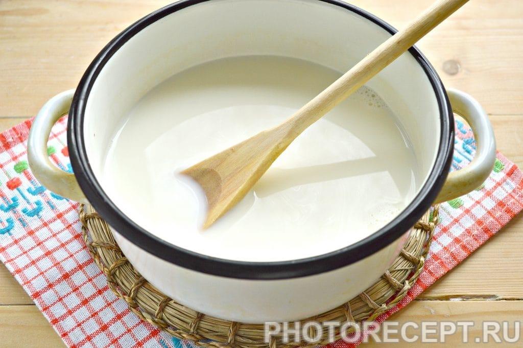 Фото рецепта - Молочный суп с вермишелью - шаг 1