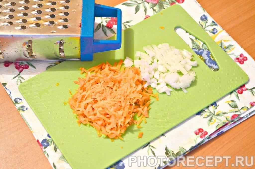 Фото рецепта - Гречневая каша с мясным фаршем - шаг 2