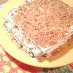 Торт «Сметанный медовик»