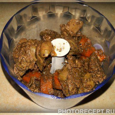 Фото рецепта - Печеночный паштет из куриной печени - шаг 2