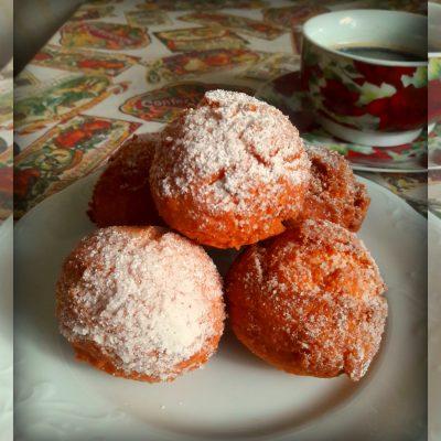 Творожные пончики - рецепт с фото
