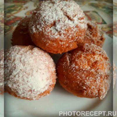 Фото рецепта - Творожные пончики - шаг 5