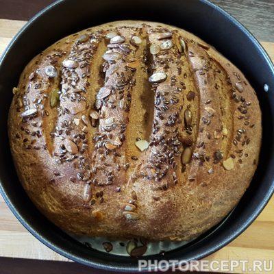 Фото рецепта - Домашний хлеб из цельнозерновой муки - шаг 5