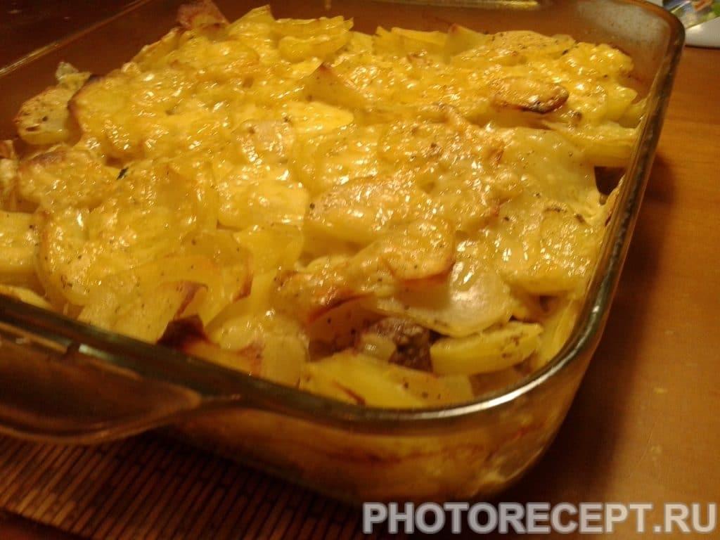 Фото рецепта - Картошка по-французски с фаршем - шаг 8