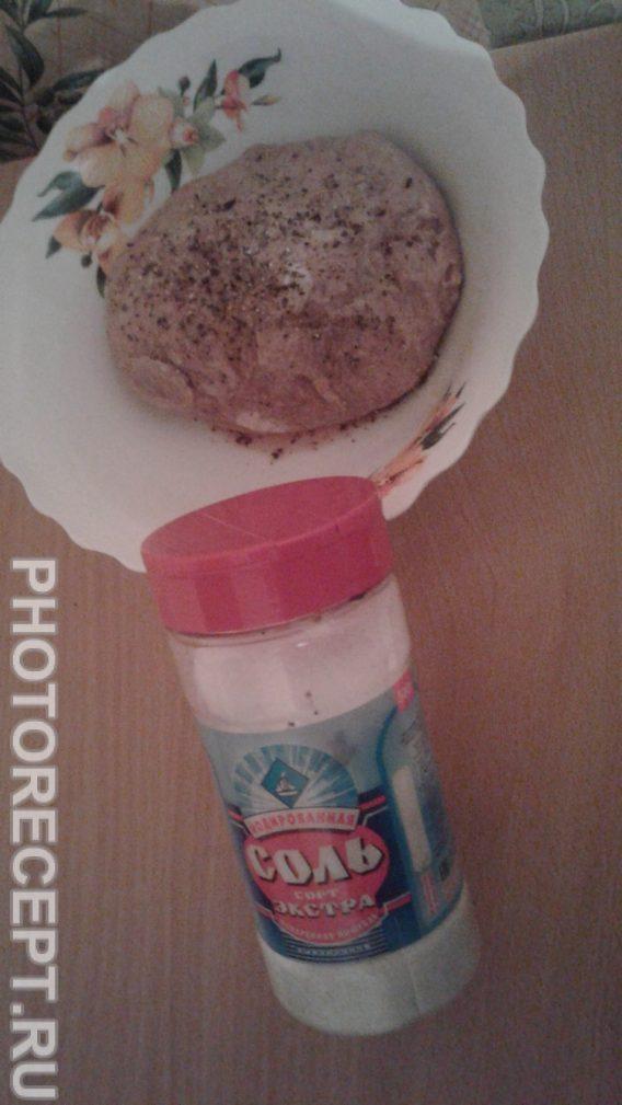 Фото рецепта - Картофель фаршированный мясом - шаг 3
