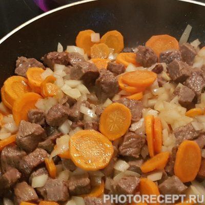 Фото рецепта - Гречневая каша с говядиной - шаг 3
