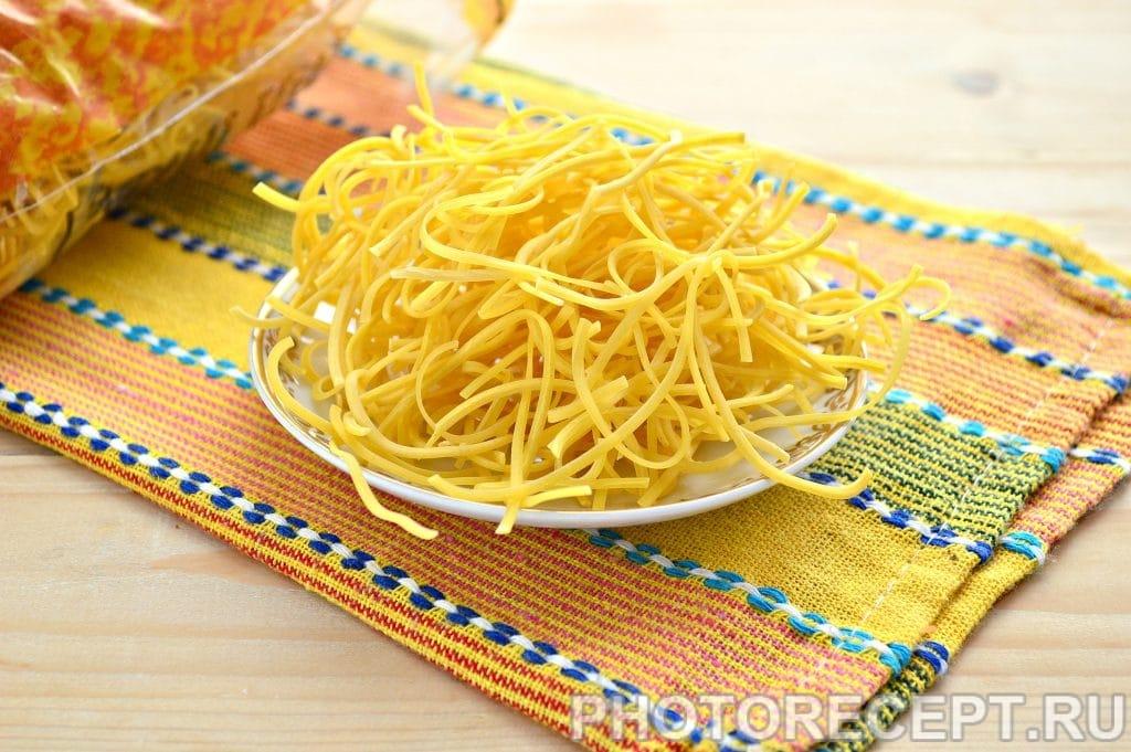 Фото рецепта - Суп-лапша на курином бульоне - шаг 4