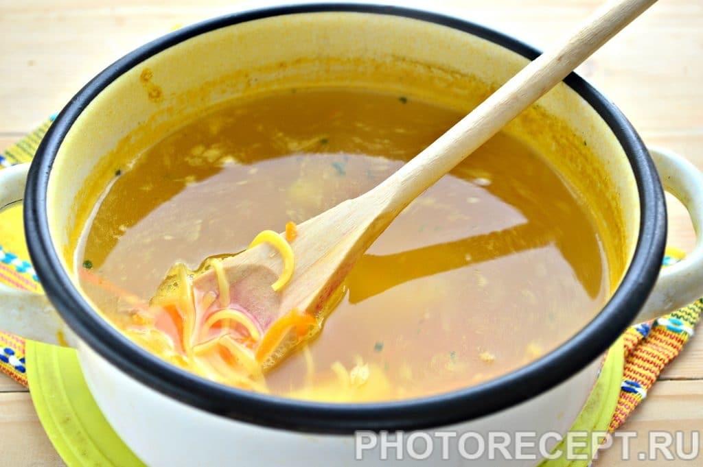 Фото рецепта - Суп-лапша на курином бульоне - шаг 5