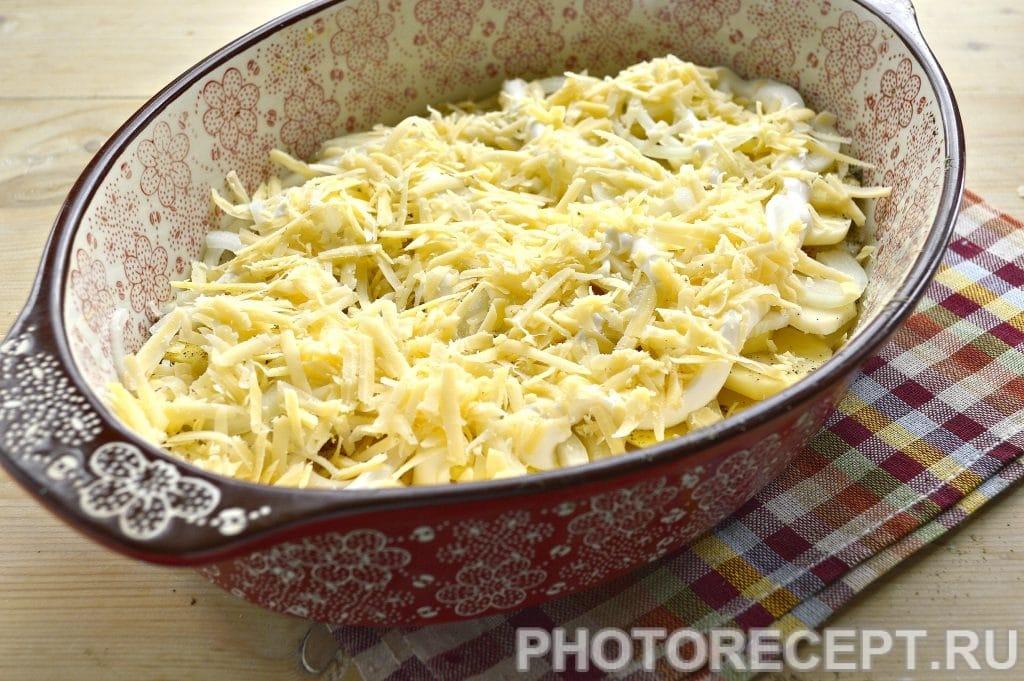 Фото рецепта - Картошка по-французски в духовке - шаг 6