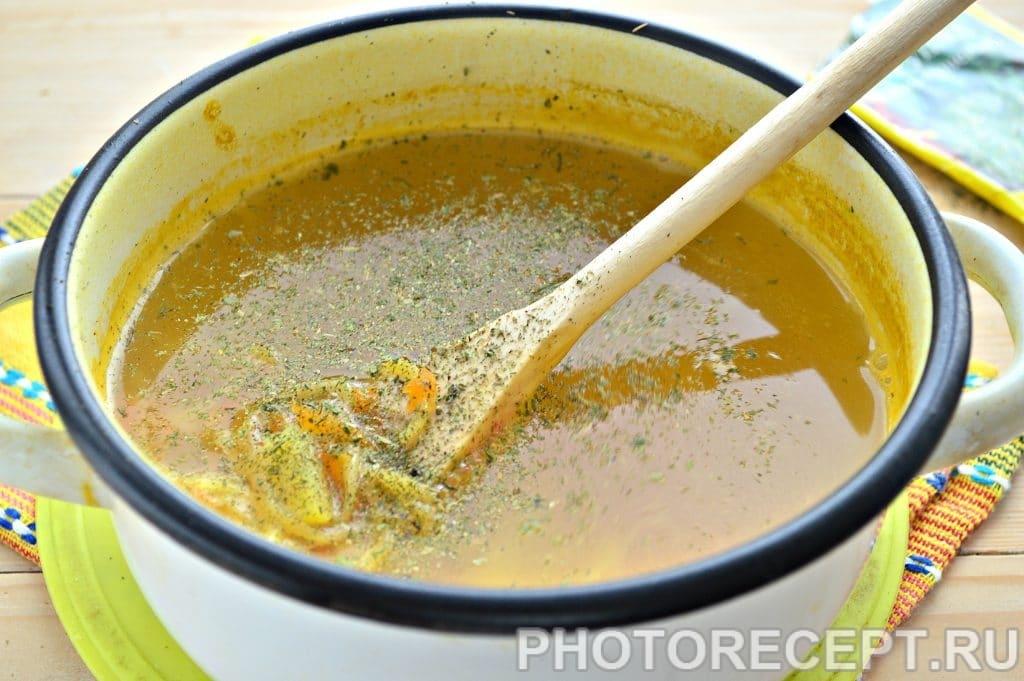 Фото рецепта - Суп-лапша на курином бульоне - шаг 6