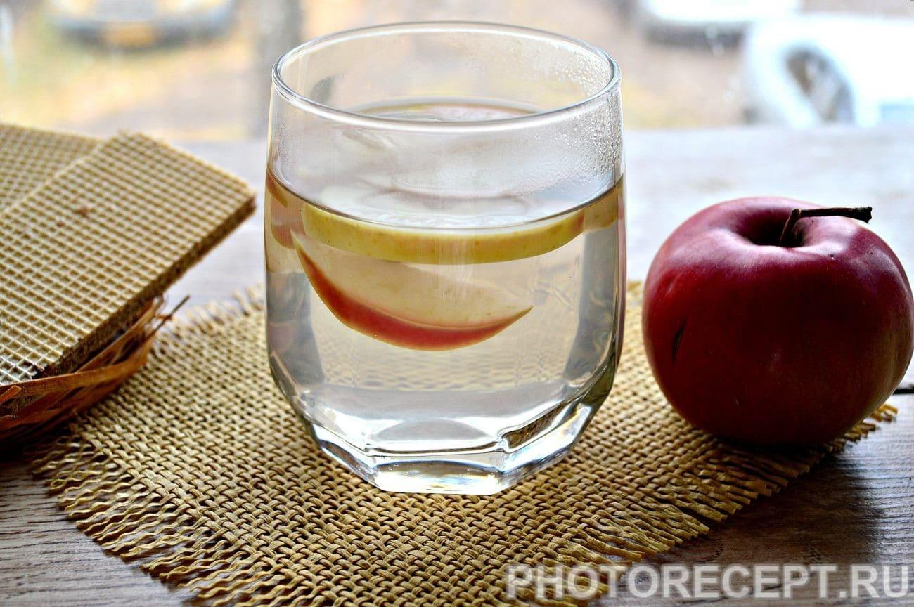 Домашний яблочный компот - рецепт пошаговый с фото