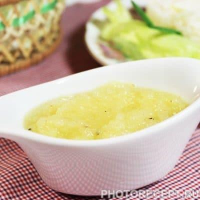 Кисло-сладкий соус из ананасов - рецепт с фото