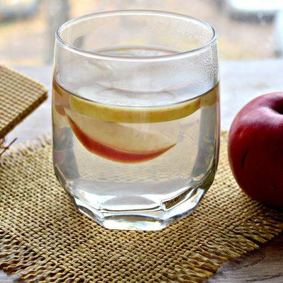 Компот из свежих яблок - рецепт с фото
