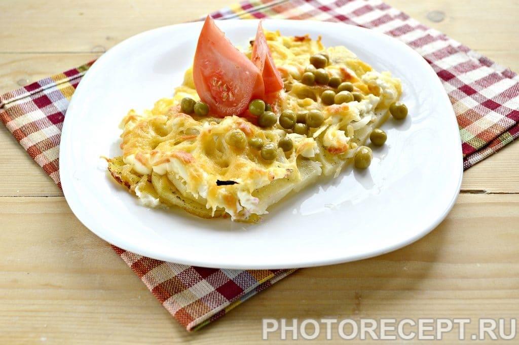 Фото рецепта - Картошка по-французски в духовке - шаг 8