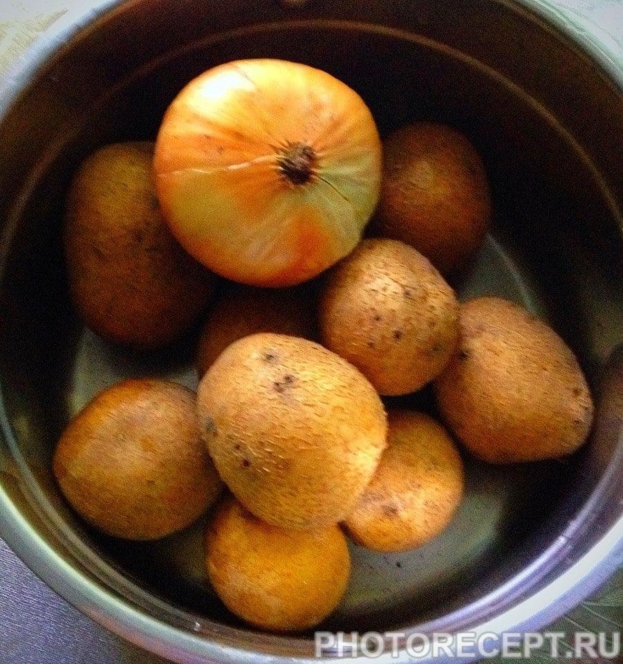 Фото рецепта - Картофельный соус с грибами - шаг 1