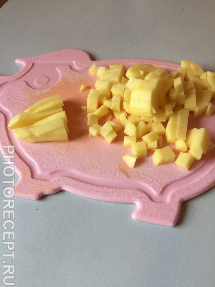 Фото рецепта - Сырный суп на курином бульоне - шаг 4