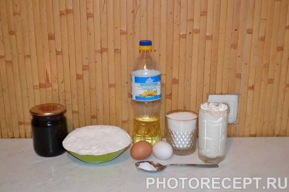 Фото рецепта - Домашний пирог с вареньем - шаг 1