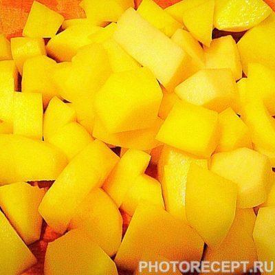 Фото рецепта - Картофельный соус с грибами - шаг 3