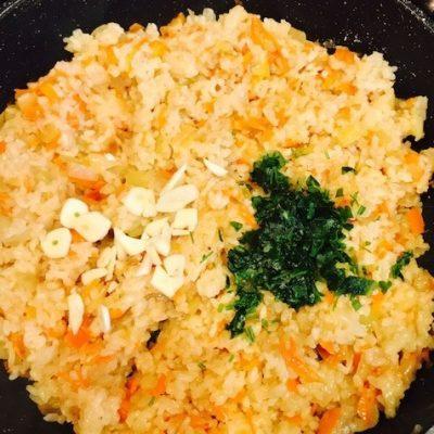 Рис с овощами - рецепт с фото