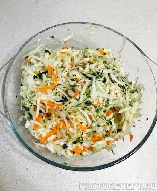 Фото рецепта - Салат из капусты - шаг 4