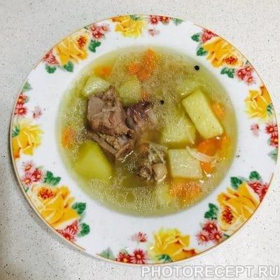 Вермишелевый суп из утки - рецепт с фото