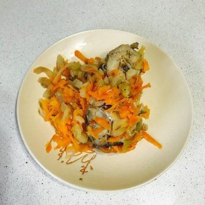 Рыба с овощами в пароварке - рецепт с фото
