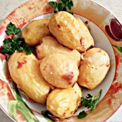 Картофель фаршированный мясом - рецепт с фото