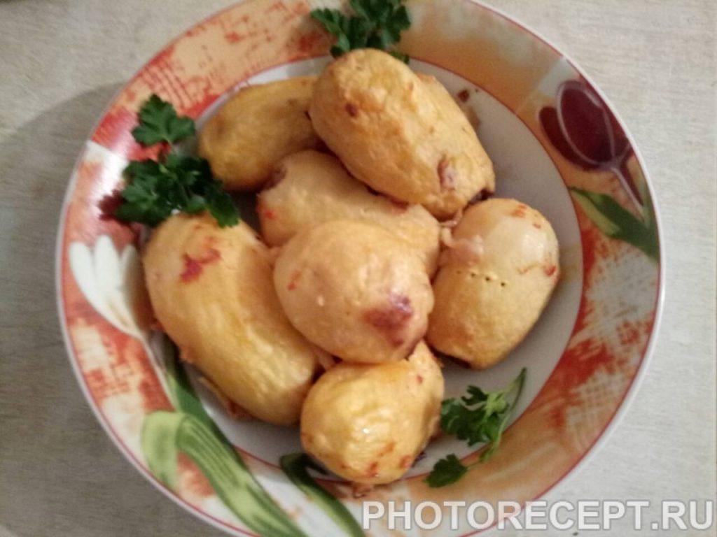 Фото рецепта - Картофель фаршированный мясом - шаг 7
