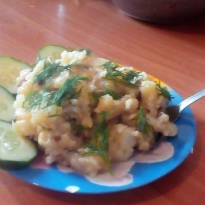 Картошка с грибами в мультиварке - рецепт с фото