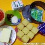 Фото рецепта - Клубничный чизкейк - шаг 1