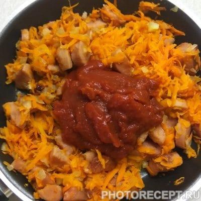 Фото рецепта - Солянка с колбасой - шаг 1