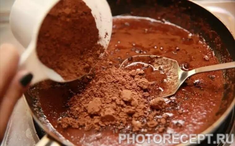 Фото рецепта - Пирожное брауни - шаг 2