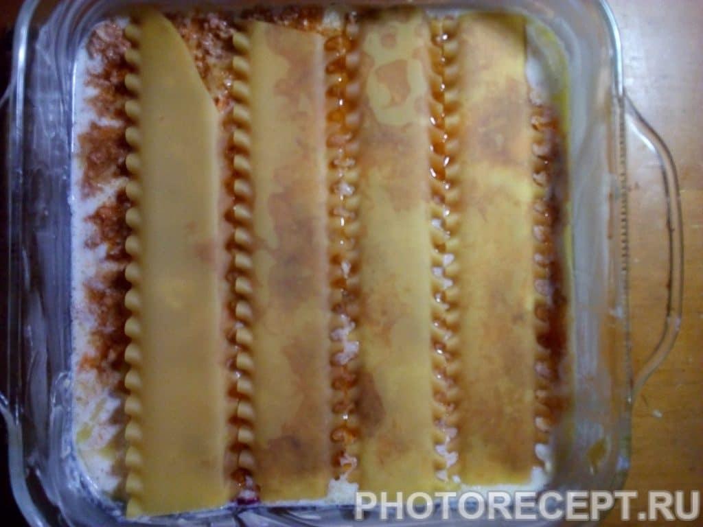 Фото рецепта - Лазанья с фаршем - шаг 9