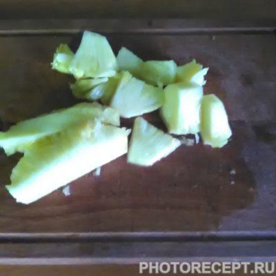Фото рецепта - Ликер из айвы и ананаса - шаг 2