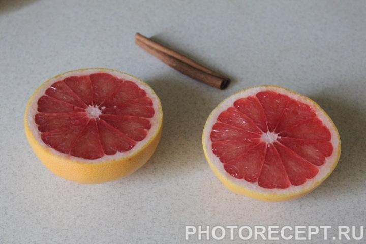 Фото рецепта - Пряные грейпфруты в виде закуски - шаг 2