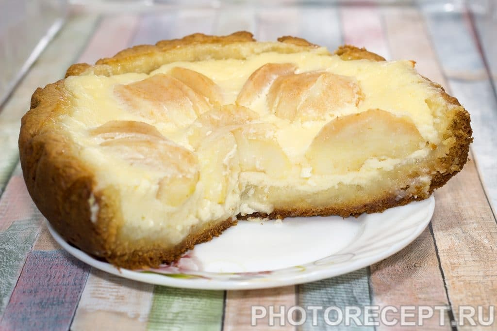 Фото рецепта - Цветаевский пирог с яблоками в мультиварке - шаг 5