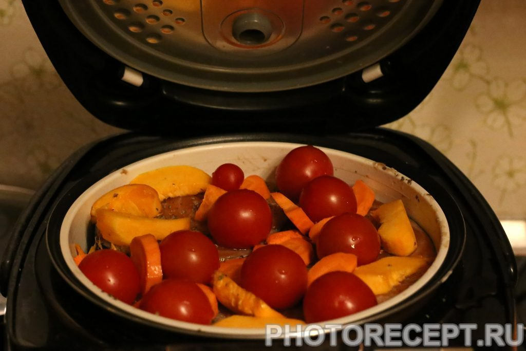 Фото рецепта - Рыба с овощами в мультиварке - шаг 3