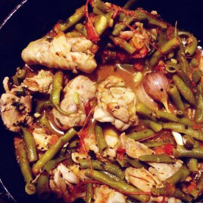 Чахохбили из курицы с овощами - рецепт с фото