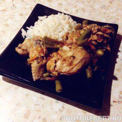 Фото рецепта - Чахохбили из курицы с овощами - шаг 4