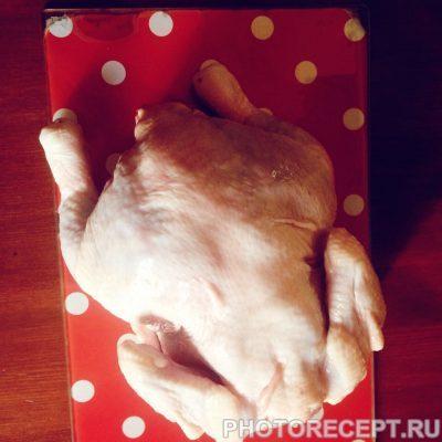 Фото рецепта - Цыпленок табака в духовом шкафу - шаг 1