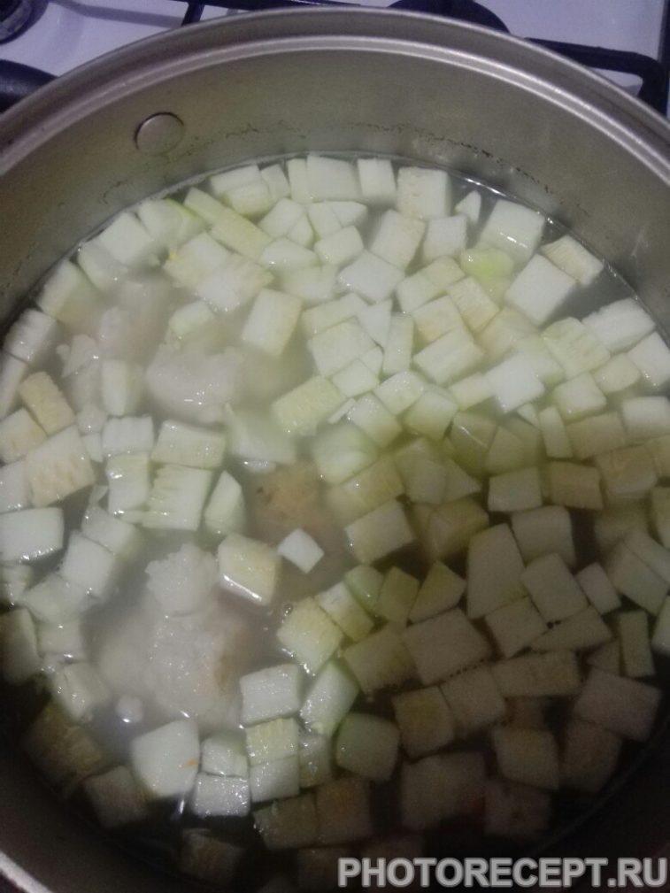 Фото рецепта - Овощной суп на курином бульоне - шаг 5