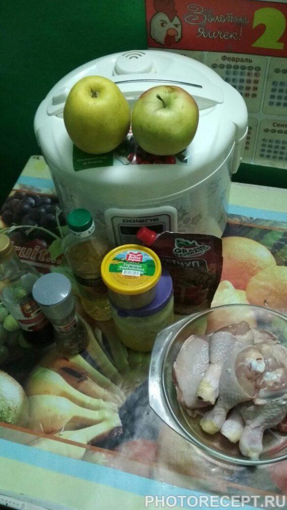 Фото рецепта - Курица в мультиварке в кисло-сладком соусе - шаг 1