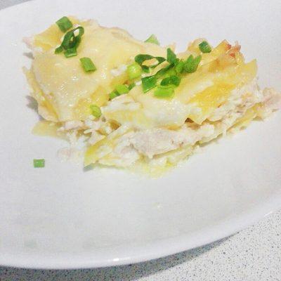 Картошка по-французски с курицей - рецепт с фото