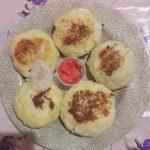 Картофельные зразы с куриным фаршем
